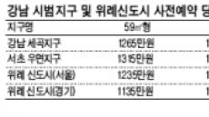강남 보금자리 청약열풍…2000만원 넘어야 안정권