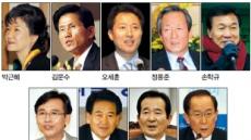열공·재충전·봉사활동…잠룡 '9人9色'