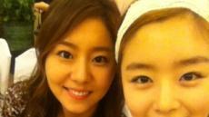 <포토뉴스>시크릿 한선화, 유이와 찰칵! 셀카