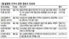 조정장세 직격탄…맥못추는 지주사株