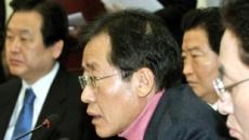 """홍준표 """"이익공유제, 현행 법체계와 안 맞아""""...정운찬 동반성장위원장에 재반격"""