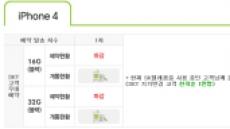 SKT 아이폰4, 1차수 1만명 마감