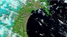 <日대지진>해안선도 바꿔놓은 쓰나미…인공위성 촬영