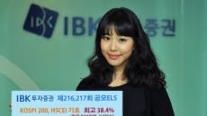 IBK투증, 3년 최고 45% 추구 원금비보장형 ELS 2종 공모