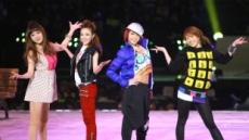 2NE1, 아디다스와 만나다