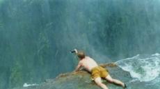 빅토리아 폭포 꼭대기에서 수영을?