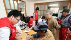 길병원 봉사단 연평도 주민 진료 봉사