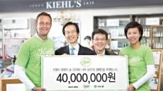 키엘, 지구의 날 맞아 4000만원 기부