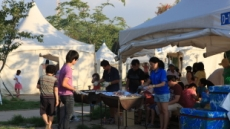 단돈 3750원이면 주말 서울 한강변 캠핑 즐길수 있다
