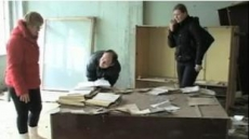 <체르노빌 원전사고 25년>잿빛으로 변한 도심…아파트 달력은 아직도 1986년