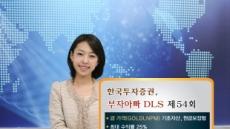 한국증권, 金에 투자하는 DLS 판매