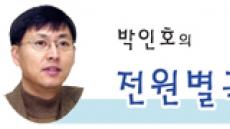 [박인호의 전원별곡]제3부 전원일기-(8)초기 전원생활=극기훈련? 도시인에서 자연인으로 거듭나기