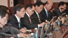 기막힌 국무회의 지각 개회