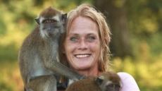 사람보다 호위호식 하는 원숭이?