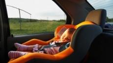 한여름 차 안에 아기 혼자 두면 13분 만에…
