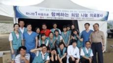 중대병원, 영월 의료봉사