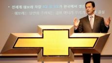 """마이크 아카몬 한국지엠 사장, 쉐보레 도입 6개월, 말리부가 판매 상승 이끌 것"""""""