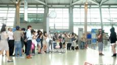 <포토뉴스> 배두나가 떴다! 몰려든 팬들로 공항 마비!