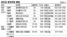 대전·충남 가을분양 격전지 부상