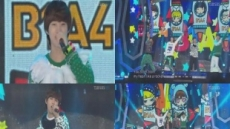B1A4, 깜찍-발랄한 무대 펼쳐 '女心 흔들'