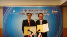 수출입은행 일본에서 6억 달러 규모 '우리다시본드' 발행