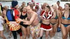 모나코 국왕의 크리스마스 수영