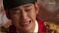 '해품달' 김수현 오열로 '선덕여왕'이후 최고 시청률