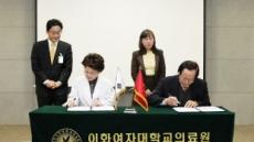 이화의료원, 주한베트남대사관과 의료ㆍ교육  MOU 체결