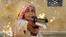 최고령 여성 저격수 '화제'…인도 78세 할머니 국제대회 25번 우승