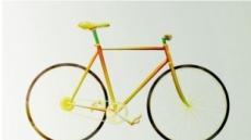 """먹을 수 있는 자전거, """"당근+소시지+레몬+치즈, 비상용 식량"""""""