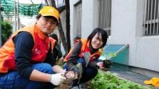 SK건설, 봄맞이 화단에 꽃 가꾸기 봉사활동