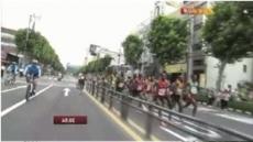 어느 마라톤 선수의 실수 '화제'…전속력 달리다가 '탈선'?