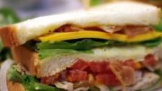 아침에 샌드위치, 내 혈관막는다
