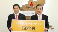 KB금융그룹, 이웃사랑성금 50억원 기탁