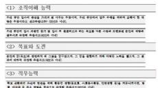 한국산업인력공단의 스펙 초월 인재 채용…입사지원서가 어떻길래?