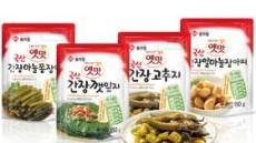 대상FNF, '옛맛 국산 간장 장아찌 4종' 출시