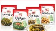 대상FNF '옛맛 국산 고추장 매실 장아찌' 출시