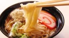 초엔저에 일본 우동 면발 달라진다