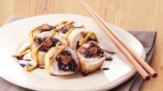 홍삼의 글로벌 레시피-홍삼찰밥 닭고기말이