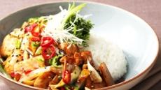 아워홈과 함께하는 약 되는 식단-청양닭안심덮밥