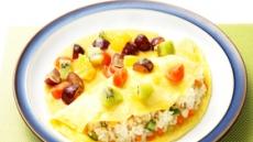 아워홈과 함께하는 약 되는 식단-과일샐러드 오므라이스