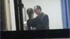 16세 여학생과 교실에서 키스하는 교사 영상공개