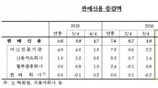 [눈덩이 가계부채②] 연말 카드이용 폭주…4분기 가계 판매신용 4.8조 '사상 최대'