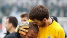 경기내내 인종차별…결국 눈물흘린 축구선수