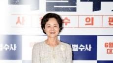 """췌장암 투병 김영애 측 """"현재 입원중…치료 아닌 휴식 차원"""""""