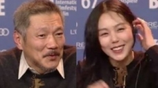 '불륜설' 홍상수·김민희, 국내 취재진 앞에 선다