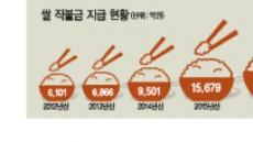 2조 3000억 넘어선 쌀 직불금…밑빠진 독에 물붓기 시작…
