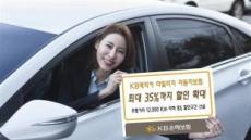 KB손보, 마일리지 車보험 할인율 확대