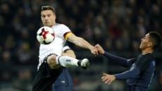 대표팀 은퇴 포돌스키 결승골…독일, 잉글랜드 1-0 격파
