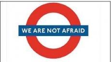 """""""우리는 두렵지 않다"""" 反테러 추모물결"""